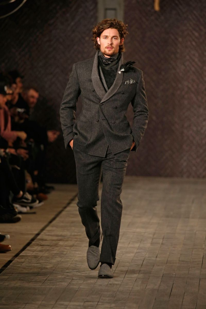 Joseph Abboud Menswear FW 2016 New York (52)