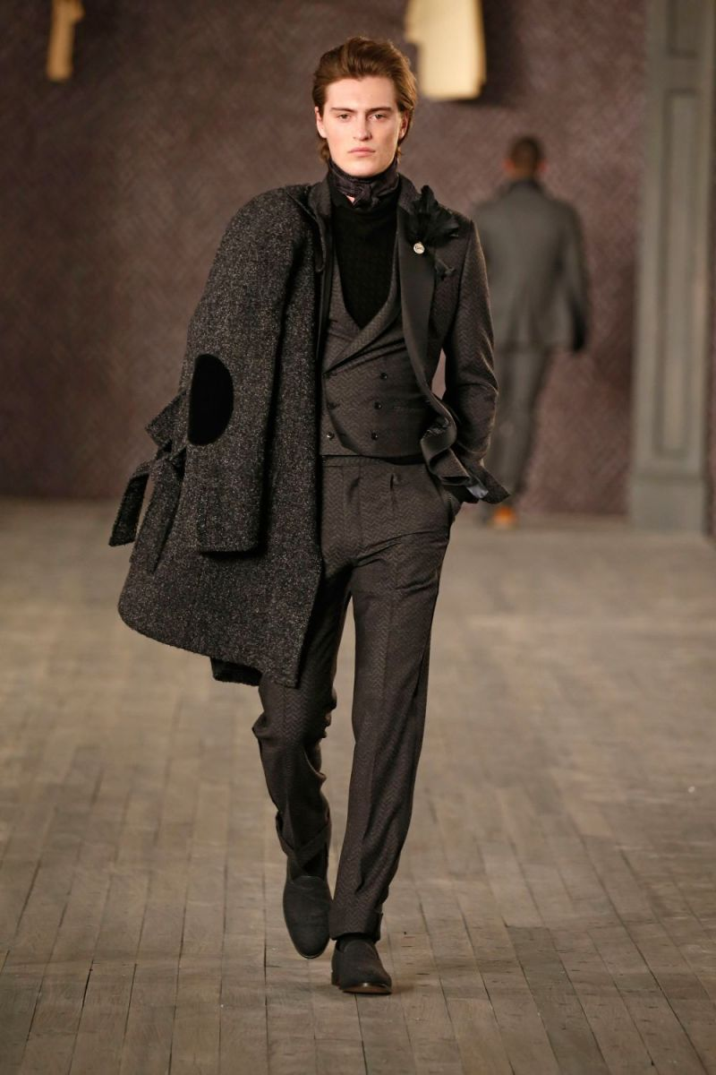 Joseph Abboud Menswear FW 2016 New York (55)