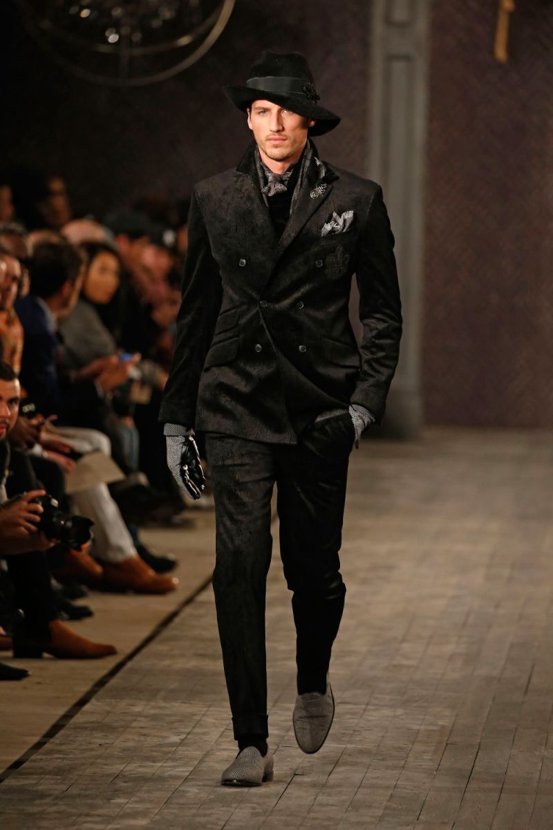 Joseph Abboud Menswear FW 2016 New York (58)