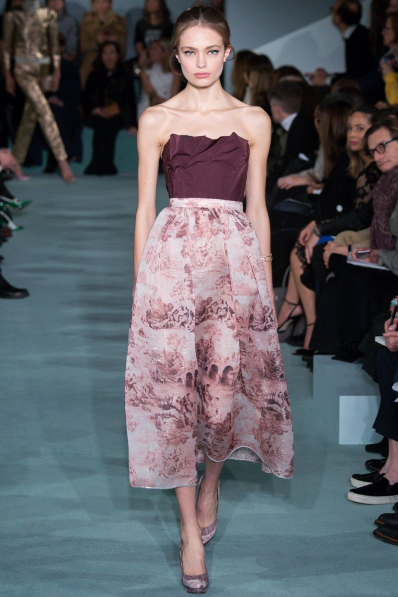 Oscar de la Renta Ready to Wear FW 2016 NYFW (38)