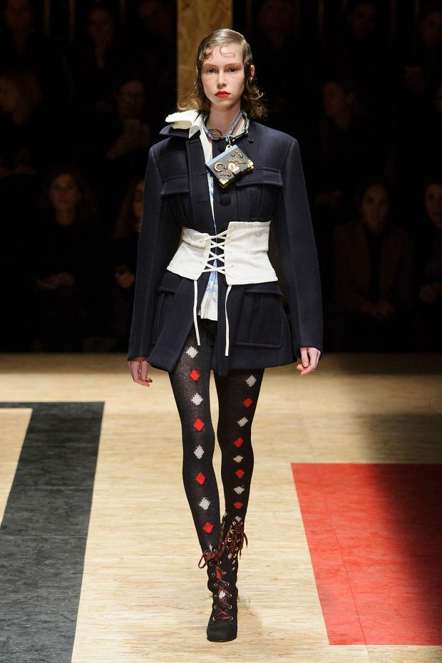 Prada Autumn Ready to Wear FW 2016 MFW (1)