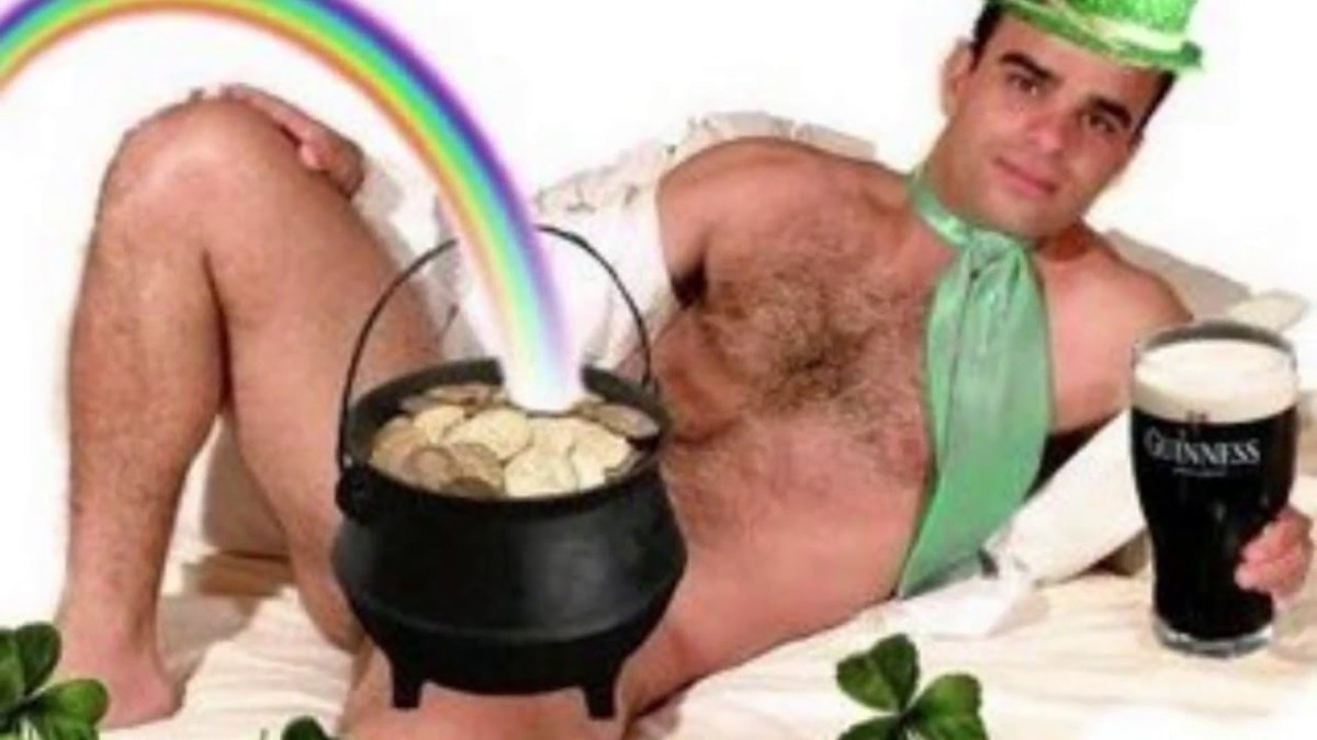 """SEXY"" Men's St. Patrick's Day Costumes"