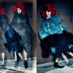 Anna Cleveland by Paolo Roversi
