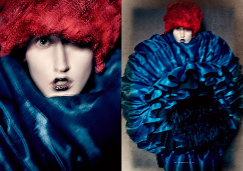 Anna Cleveland by Paolo Roversi (4)