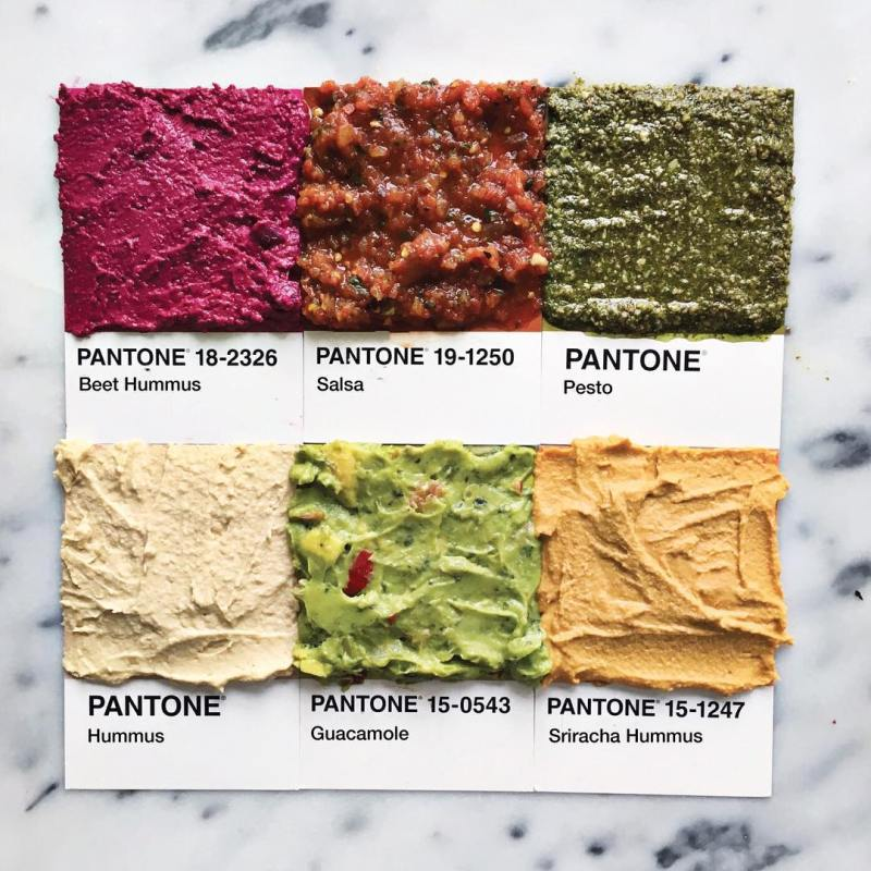 Pantone Foods by Lucy Litman (3)