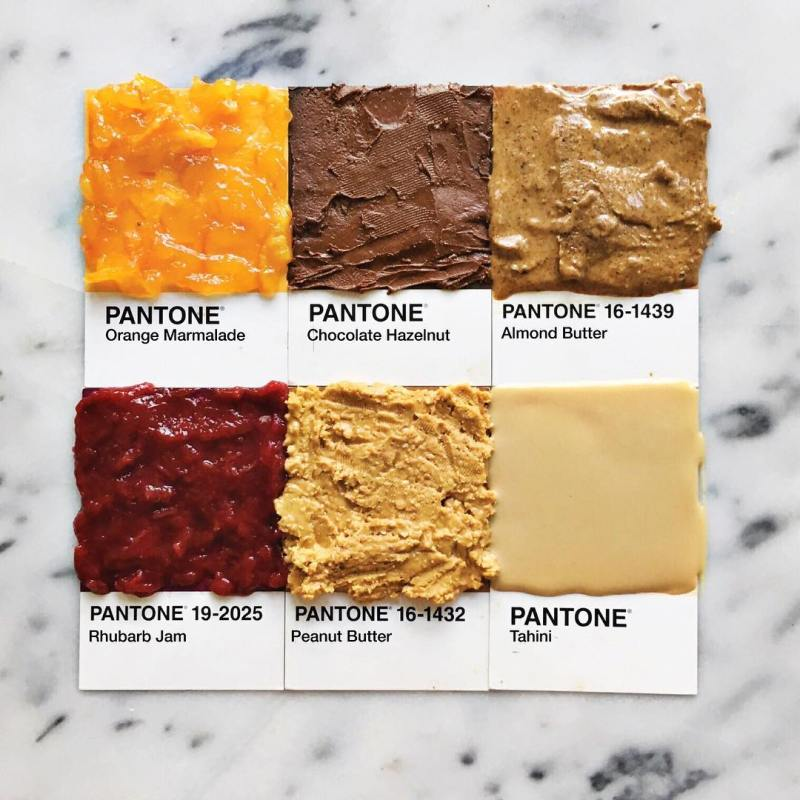Pantone Foods by Lucy Litman (4)