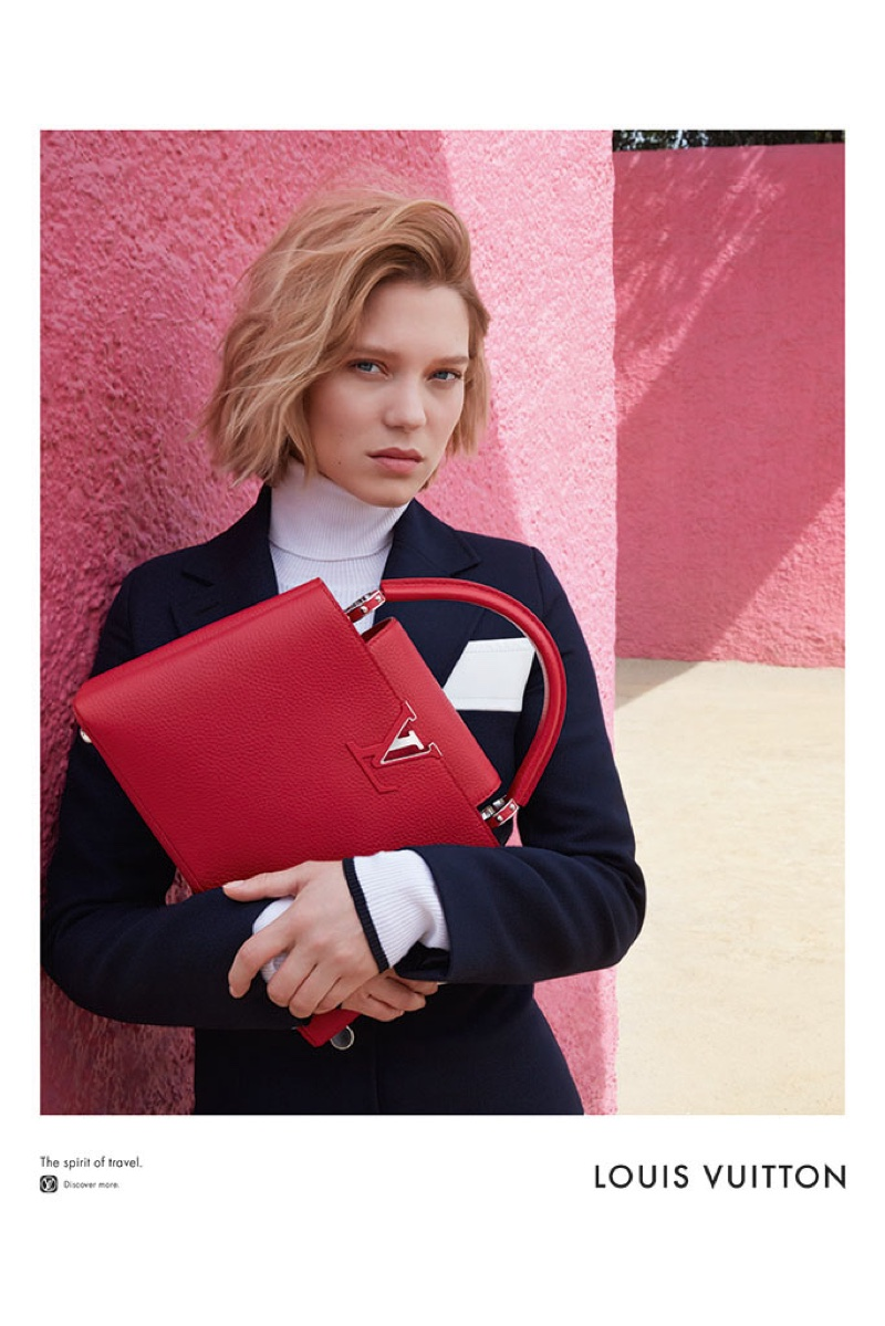 Lea Seydoux for Louis Vuitton 2016 Campaign (2)