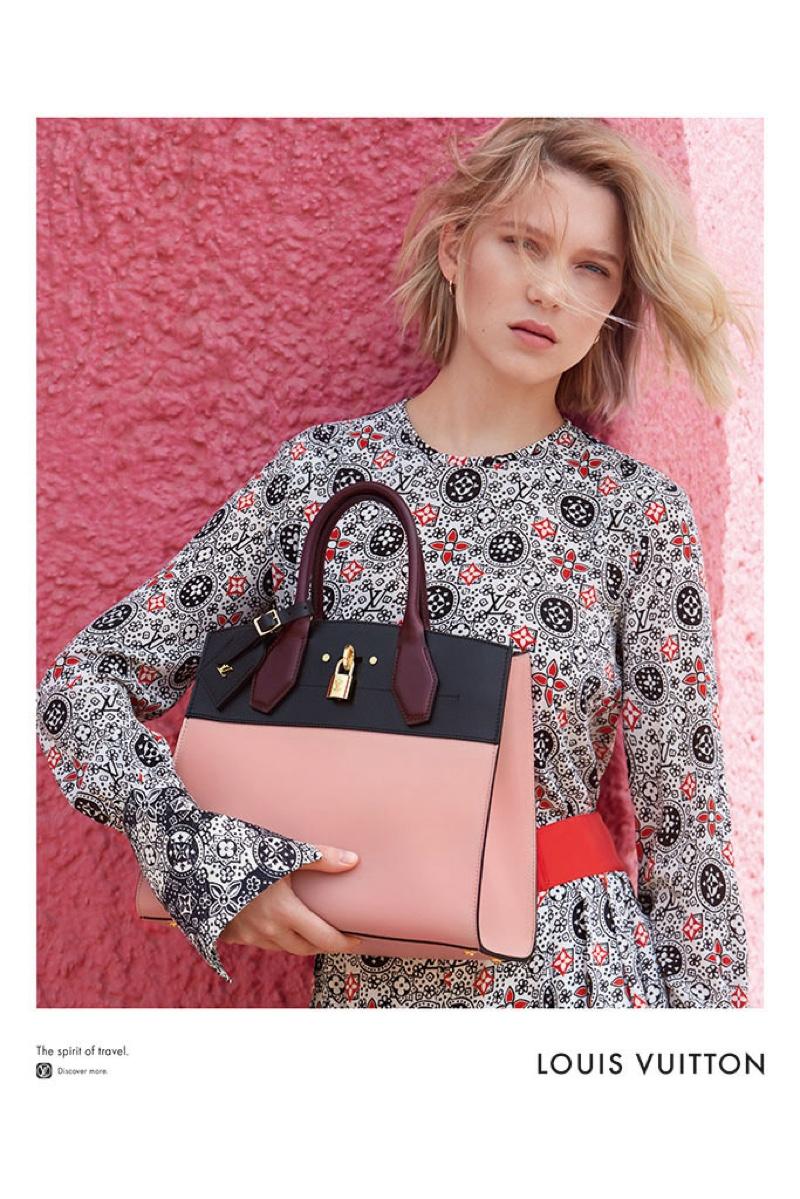 Lea Seydoux for Louis Vuitton 2016 Campaign (3)