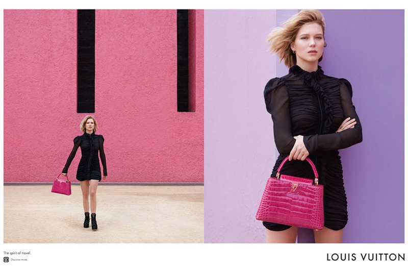 Lea Seydoux for Louis Vuitton 2016 Campaign (7)
