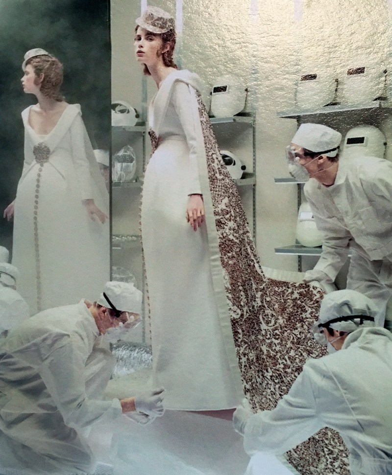 Rianne Van Rompaey by Steven Meisel (1)
