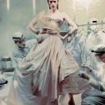 Rianne Van Rompaey by Steven Meisel