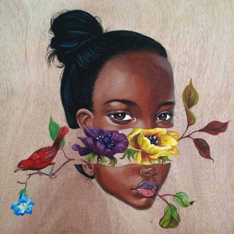 Wide Eyed Surreal Portraits by artist Julie Filipenko (1)