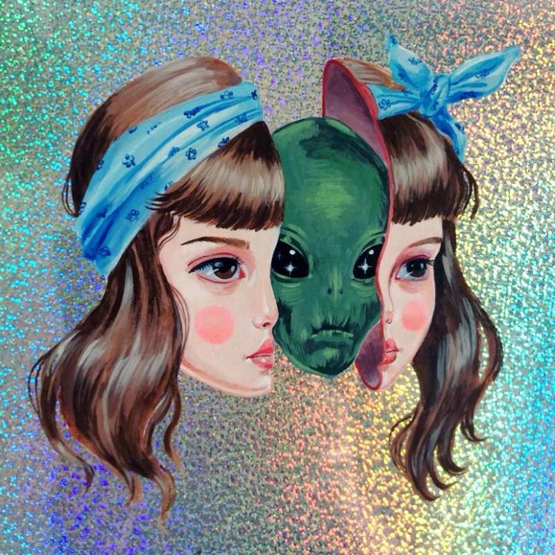 Wide Eyed Surreal Portraits by artist Julie Filipenko (2)