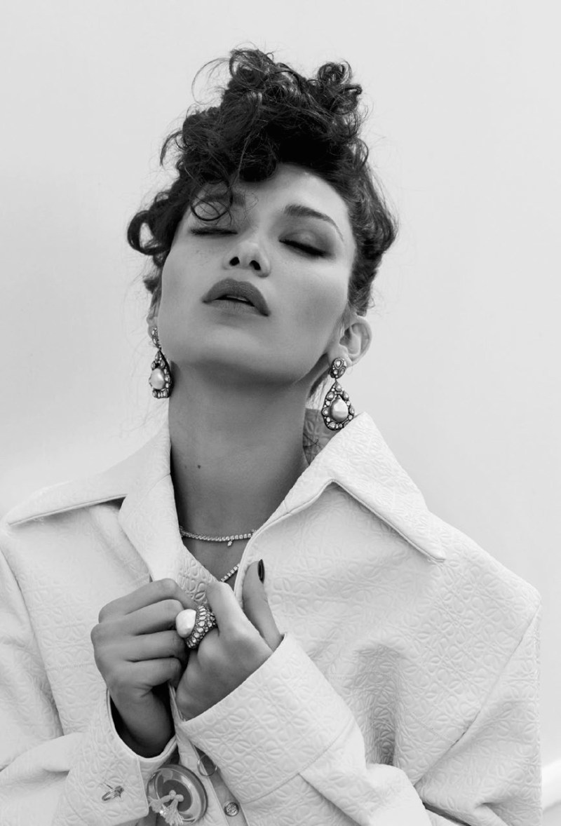 Bella Hadid by Sebastian Faena (7)
