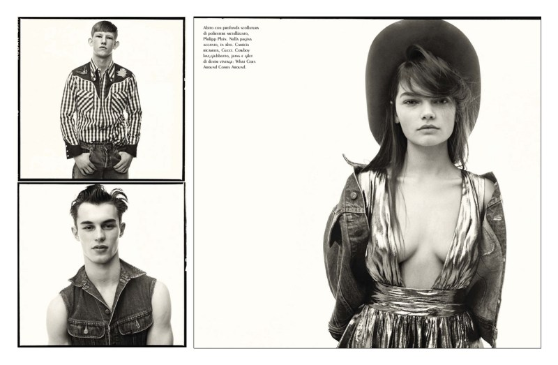 'New Thought New Vision' by Steven Meisel (4)
