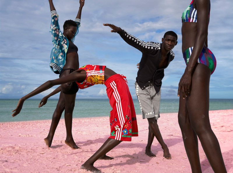 Pharrell Williams x Adidas Pink Beach Campaign by Viviane Sassen (3)
