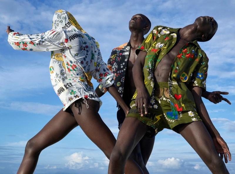 Pharrell Williams x Adidas Pink Beach Campaign by Viviane Sassen (5)