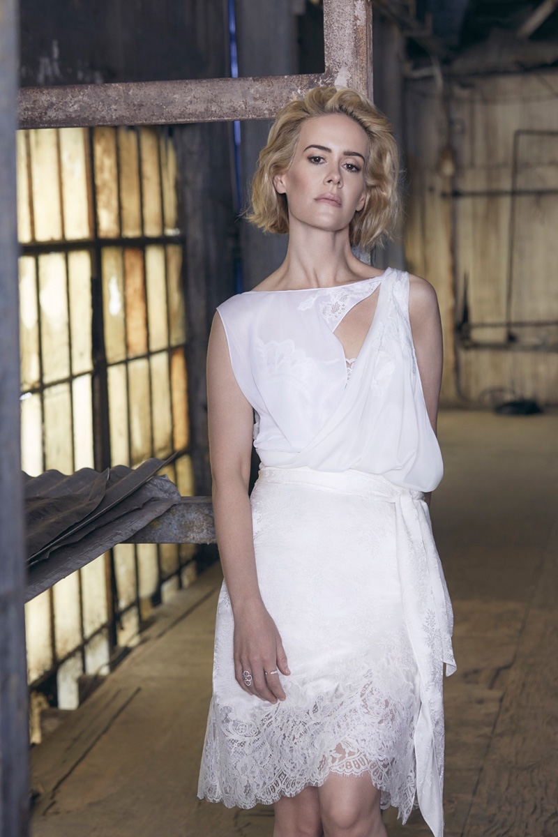 Sarah Paulson for No Tofu Magazine (2)