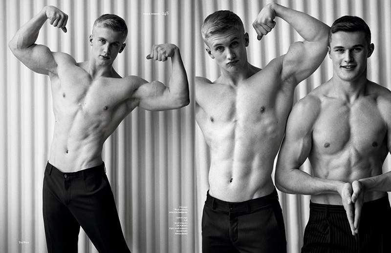 Zac Aynsley and Dan Scoble by Alasdair McLellan (7)