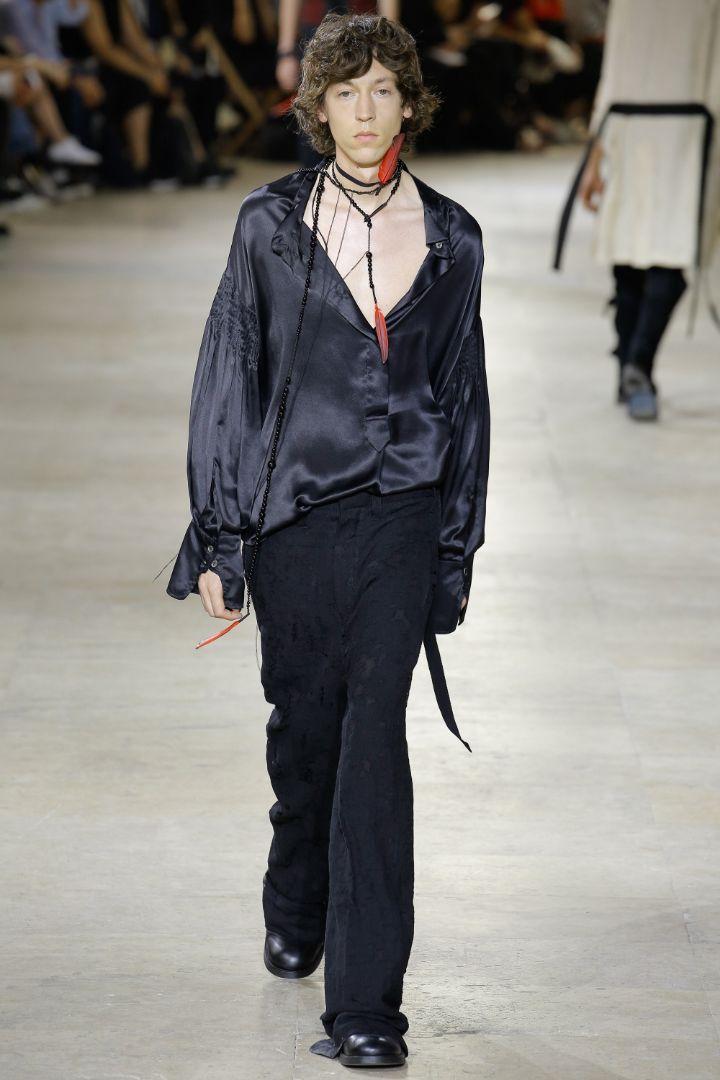 Ann Demeulemeester Menswear SS 2017 Paris (11)