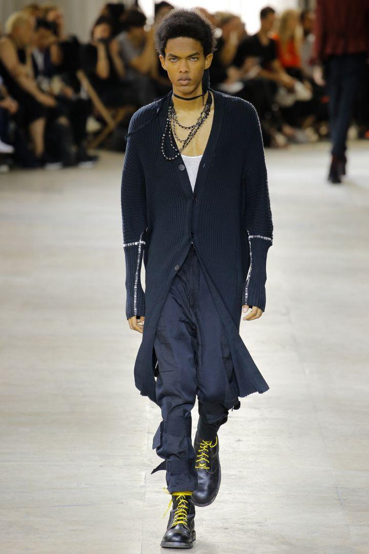 Ann Demeulemeester Menswear SS 2017 Paris (16)