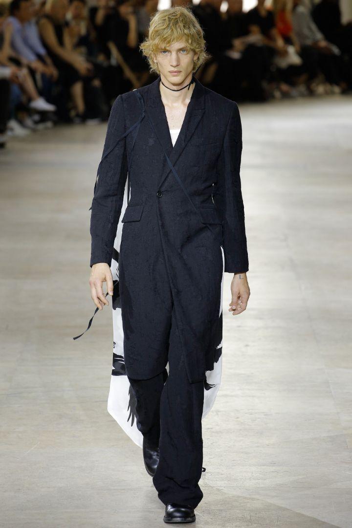 Ann Demeulemeester Menswear SS 2017 Paris (40)