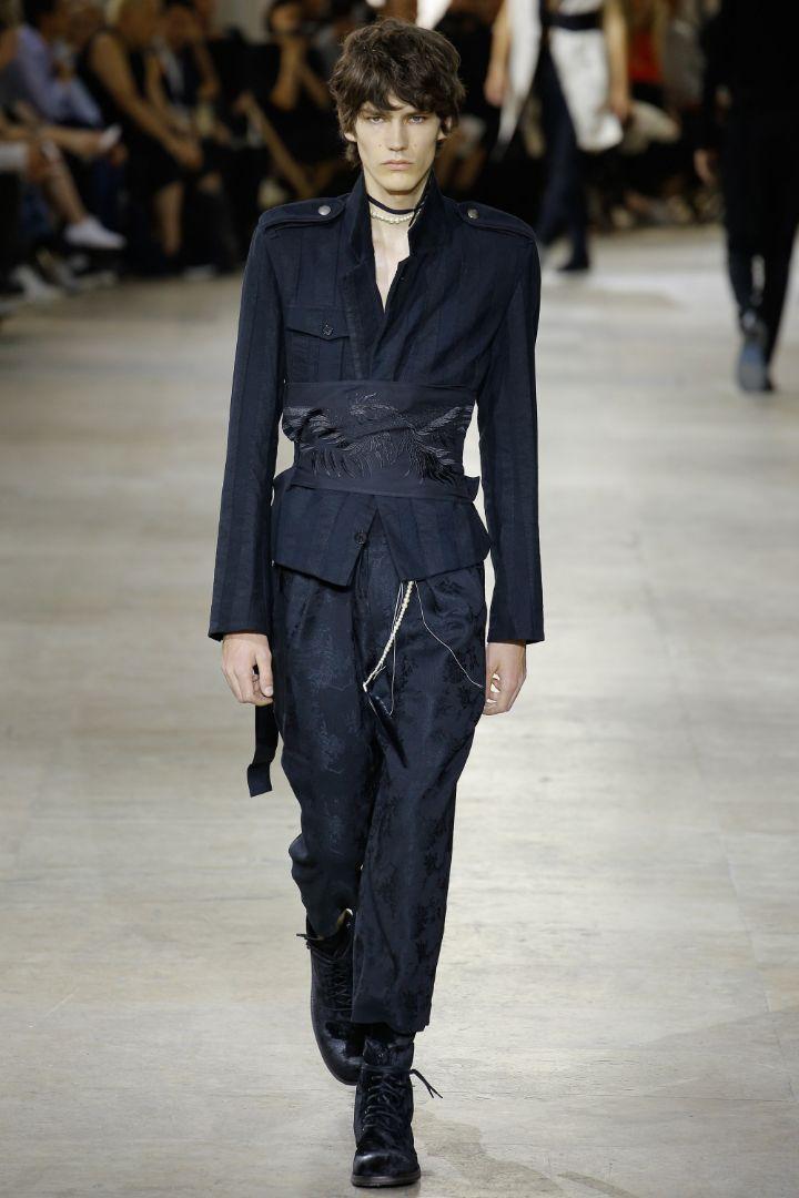 Ann Demeulemeester Menswear SS 2017 Paris (6)
