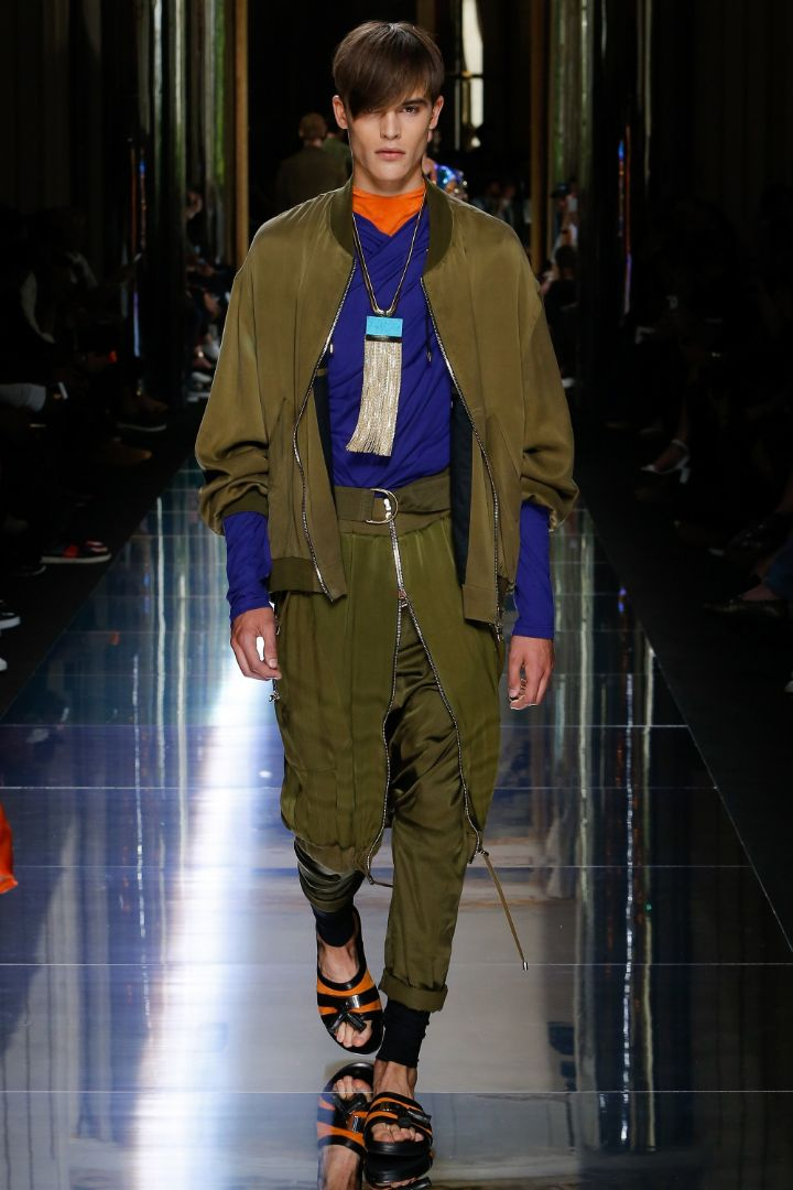 Balmain Menswear SS 2017 Paris (20)