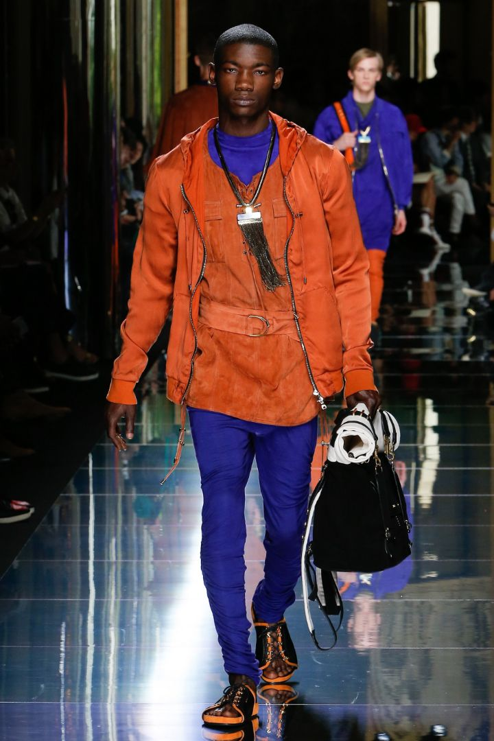 Balmain Menswear SS 2017 Paris (27)