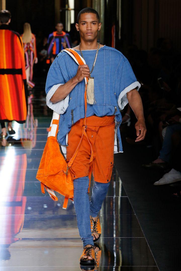 Balmain Menswear SS 2017 Paris (39)