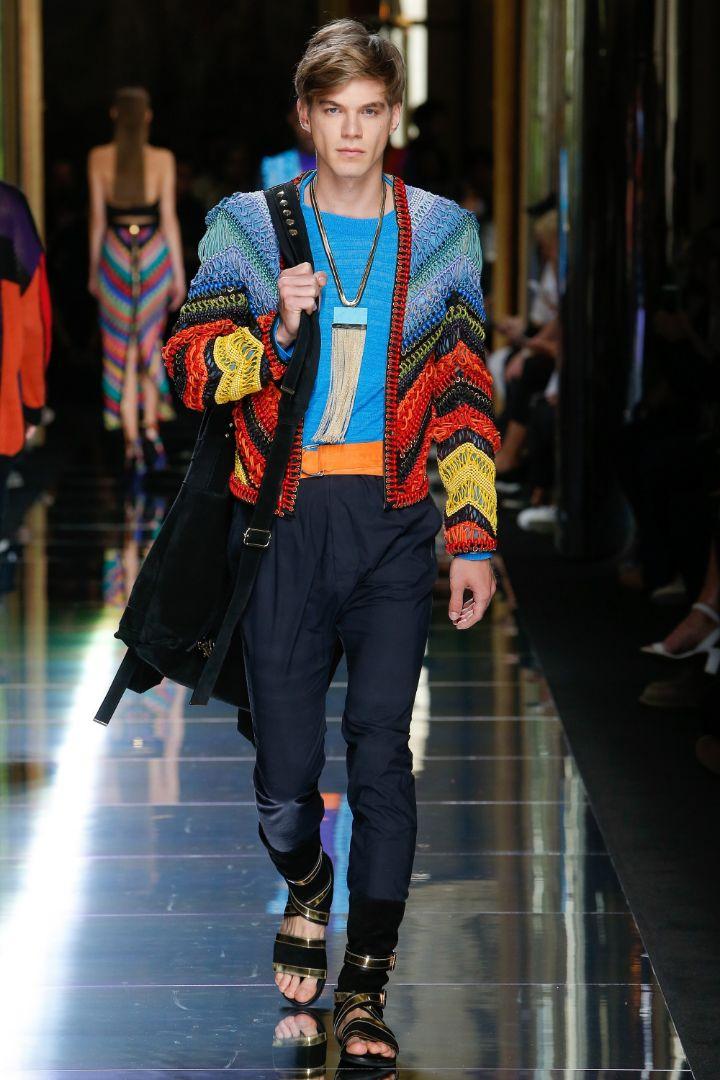 Balmain Menswear SS 2017 Paris (48)