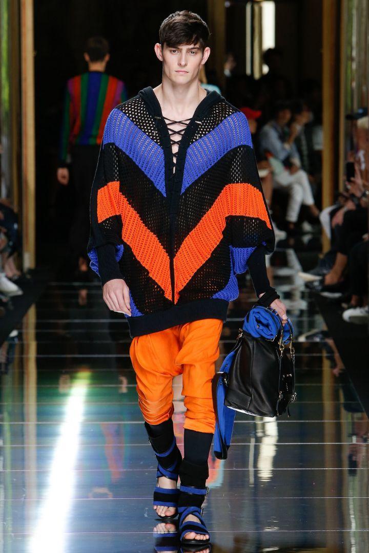 Balmain Menswear SS 2017 Paris (52)
