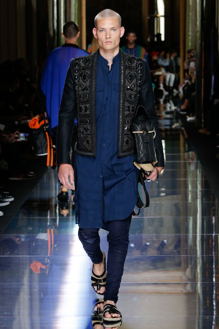 Balmain Menswear SS 2017 Paris (55)
