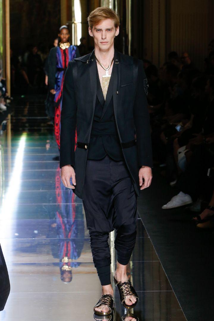 Balmain Menswear SS 2017 Paris (61)