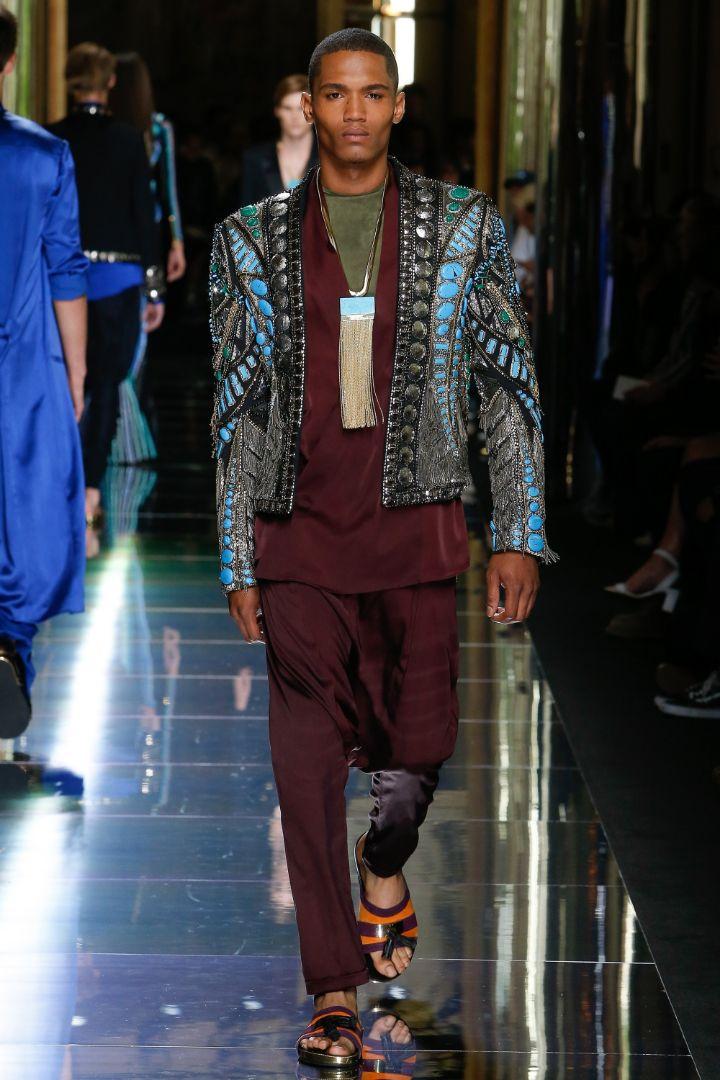 Balmain Menswear SS 2017 Paris (71)