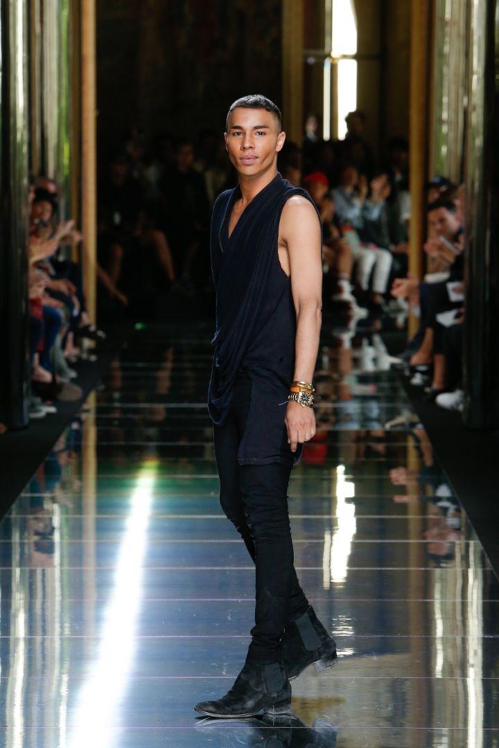 Balmain Menswear SS 2017 Paris (81)