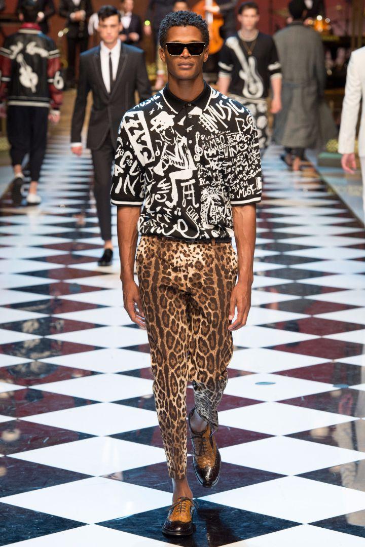 Dolce & Gabbana Menswear SS 2017 Milan (10)