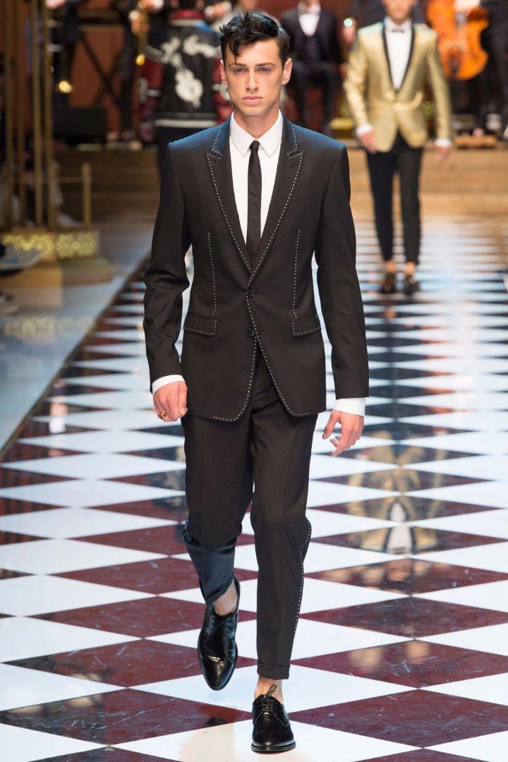 Dolce & Gabbana Menswear SS 2017 Milan (11)
