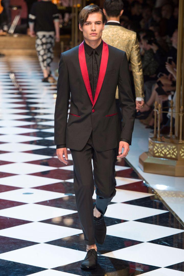 Dolce & Gabbana Menswear SS 2017 Milan (15)