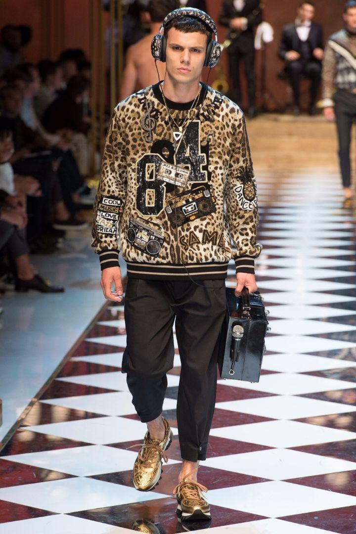 Dolce & Gabbana Menswear SS 2017 Milan (32)