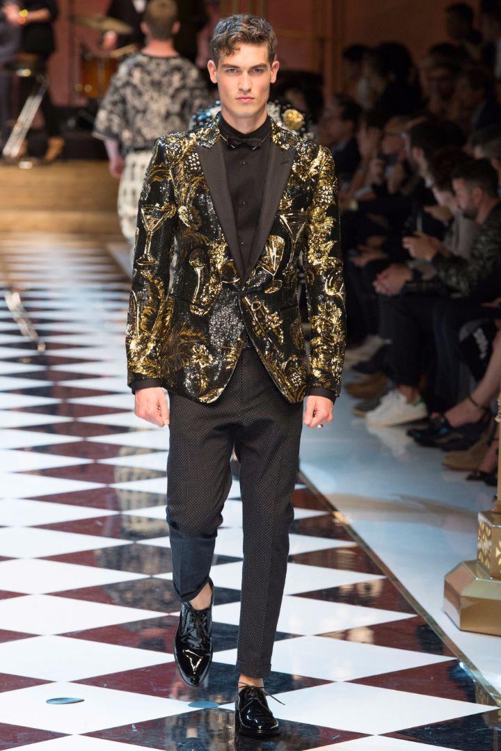 Dolce & Gabbana Menswear SS 2017 Milan (45)