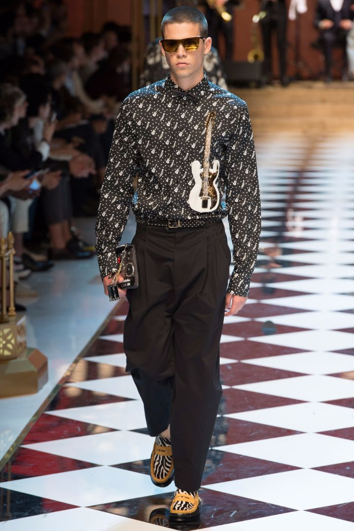 Dolce & Gabbana Menswear SS 2017 Milan (5)