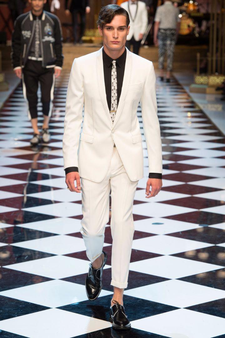 Dolce & Gabbana Menswear SS 2017 Milan (58)