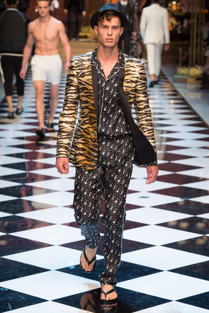 Dolce & Gabbana Menswear SS 2017 Milan (61)