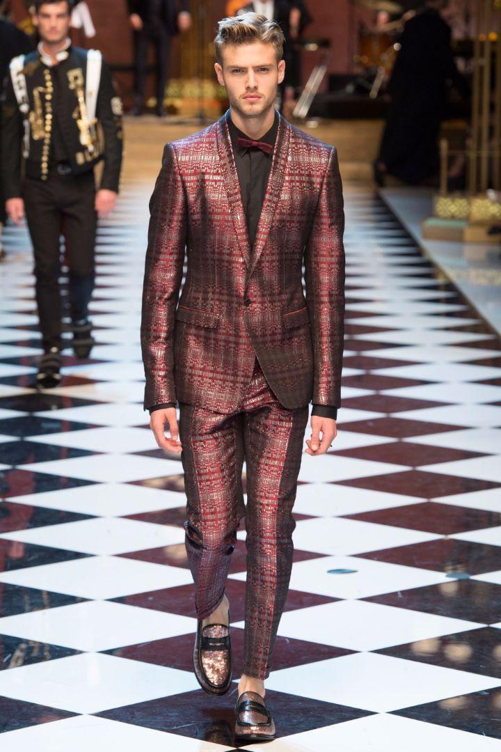 Dolce & Gabbana Menswear SS 2017 Milan (76)