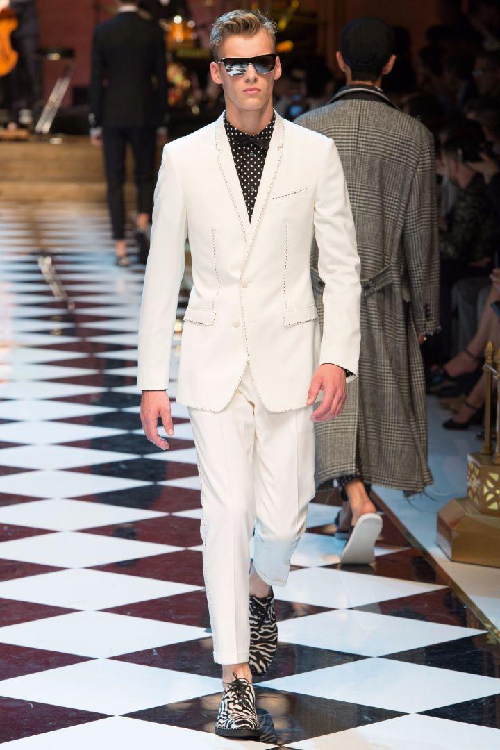 Dolce & Gabbana Menswear SS 2017 Milan (9)