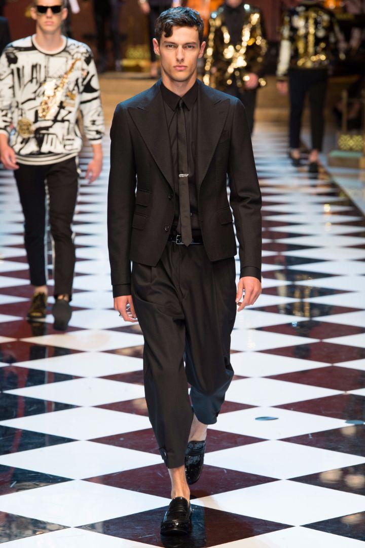 Dolce & Gabbana Menswear SS 2017 Milan (91)