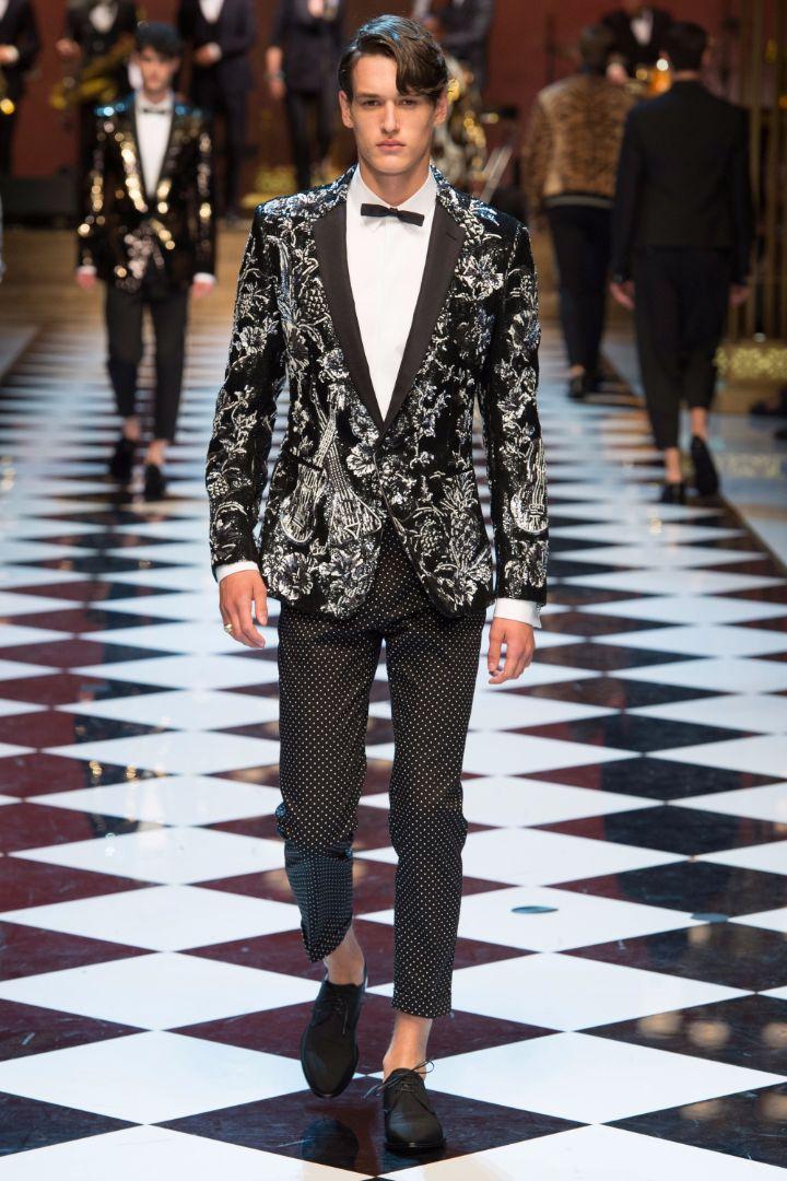 Dolce & Gabbana Menswear SS 2017 Milan (94)