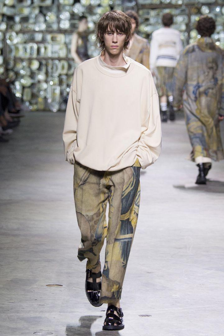Dries Van Noten Menswear SS 2017 Paris (12)
