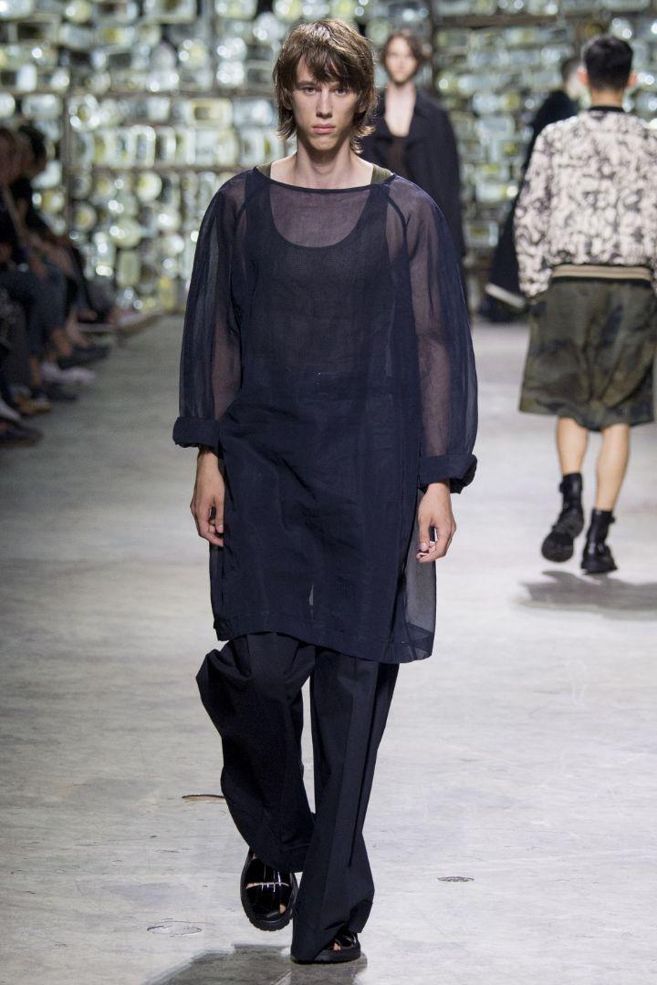 Dries Van Noten Menswear SS 2017 Paris (55)